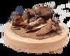 Porcini mushroom gourmet mix, wild, dried and mature