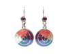"""Silver Earrings """"Mother Earth - 5 Colors"""""""