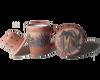 Ceramic tea mug with infuser