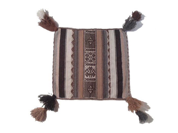 """Traditional, ceremonial uncuña cloth """"Sunrise to Sunset"""""""