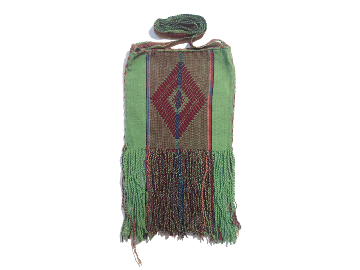 "Alpaca shoulder bag ""Mother Earth"""