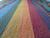 "Alpaca poncho ""Rainbow, Suns and Stars"""