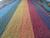 "Alpaca shawl ""Rainbow, Suns and Stars"""