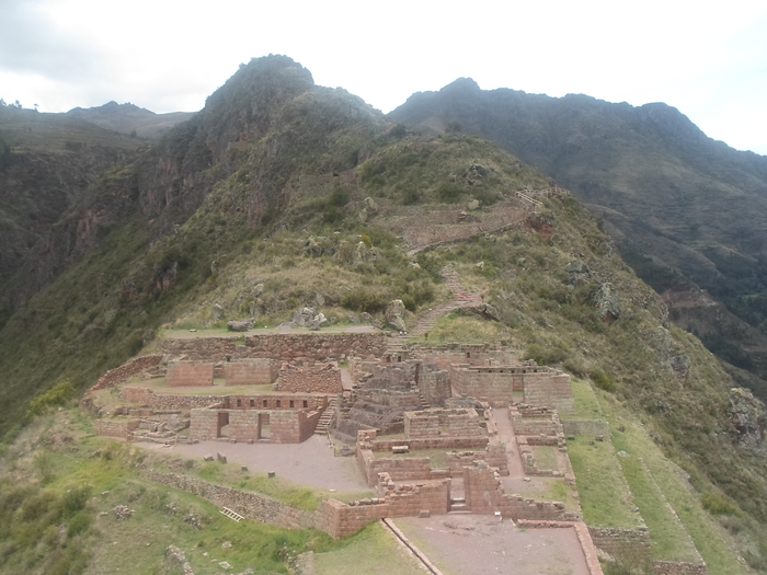 The Intihuatana at the Pisac archaeological site