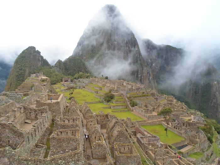 The Machu Picchu citadel